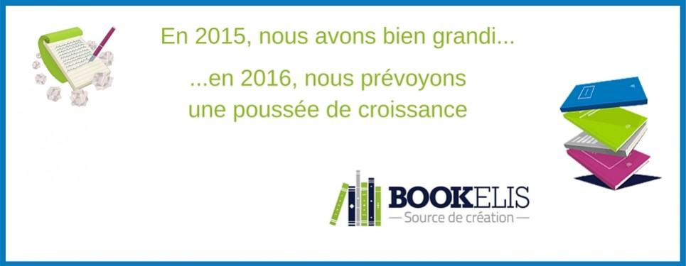 Rétrospective 2015 - Bookelis a bien grandi