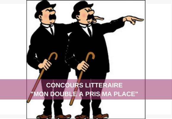 """Concours littéraire """"Mon double a pris ma place"""""""
